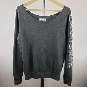 REFLEX pullover sweater long sleeve off shoulder.